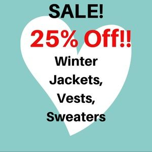 Jackets & Blazers - All winter items included for a limited time!